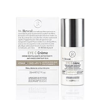 renophase–Eye C creme die Creme Anti-Falten- und revitalisierende Augenpartie Labors renophase,, konzentrierte Glycolsäure Antioxidans glättend und in pro-vitamine C. [Aga + PRC]