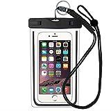 LeRan Housse étanche Smartphone Universel Pochette étanche pour iPhone X 8 7 6S 6 Plus, Sony, Huawei, HTC, Samsung Galaxy S8 S7 S6 (6.0 Pouces)