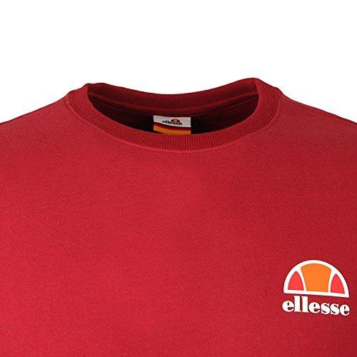 """ellesse Herren Sweatshirt """"Diveria"""" Tibetan Red"""