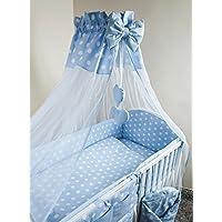 Nuovo | Baby baldacchino/zanzariera + Morsetto Supporto per Nursery Lettino Tartarughe–Giallo