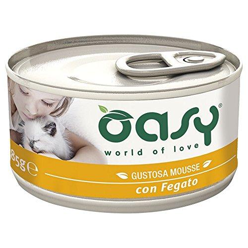 OASY Lebermousse Katzenfutter Wet Cat Premium-