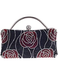 Damen Abend Paket Diamant Kupplung Luxus Kissen Typ Handtaschen Für Nachtclub Party Hochzeit Clubs,Silver-OneSize Addora