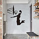 Suuyar Dunk MusterAufkleberWandaufkleberKunstWohnkulturBasketball Poster Kunst Jungen Wohnkultur Basketball Sport