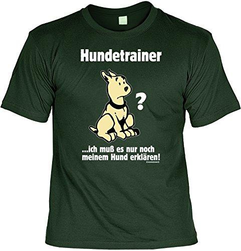 Unbekannt Witziges Sprüche Fun T-Shirt : - Hundetrainer Kostüm