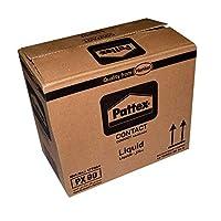 غراء باتكس سائل مثبت بالضغط لون أصفر 50 غرام مجموعة 12 علبة
