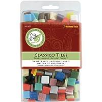 Diamond Tech Crafts vetro Classico Tile Mix 16 oz, colori assortiti