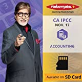 #9: Robomate+ Video Lectures by Robomate+ of CA IPCC Nov 17 Accounting (SD Card)