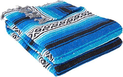 xikanischen Yoga Decke, Herren, blau ()