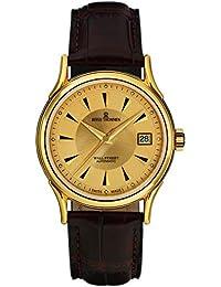 Hombre-reloj Revue Thommen Wall Street analógico rhöna cuero 20002.2511
