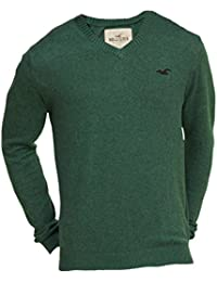Hollister - Homme - V-Neck Icon Slim Fit Sweater Pull Sweatshirt - Manche Longue