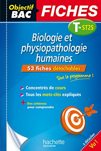 Objectif Bac Fiches Bio Physio Term ST2S