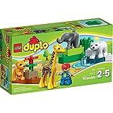 Lego Duplo Legoville-thème Zoo - 4962 - Jeu De Construction - Le Zoo Des Bébés Animaux