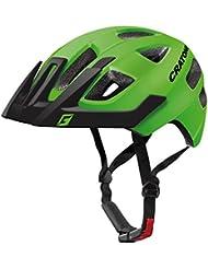 Cratoni Maxster Pro – Casco de ciclismo para niños, disponible en muchos colores, color lime-black matt, tamaño extra-small