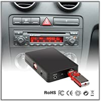 Adaptador de interfaz del reproductor de CD a MP3 auxiliar para coche Audi A4A6A8All Road S4TT