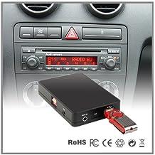 Adaptador de interfaz del reproductor de CD a MP3 auxiliar para coche Audi A4 A6 A8