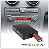 LaPower USB-, SD-, AUX-, MP3-Player-, CD-Wechsler-Adapter für Autoradio in AUDI A4, A6, A8, All Road S4 TT