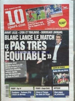 10 LE SPORT COM [No 122] du 06/03/2009