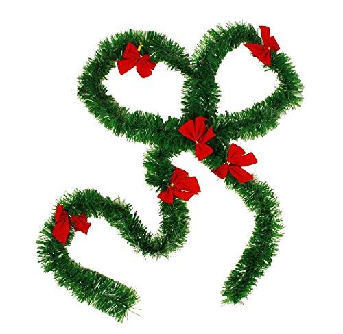 Haac guirnalda artificial guirnalda árbol navidad