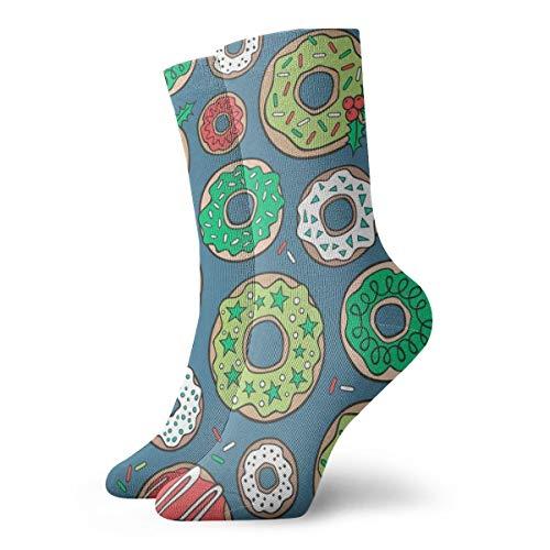 Huabuqi Fancy Women Socken Weihnachtsfilme mit Canvas U0026 Sprinkles On Navy Blau Navy_4453, Antid ective Farbe für Männer 100% Baumwolle, Einheitsgröße. - Farbton Damen Socken Jeans