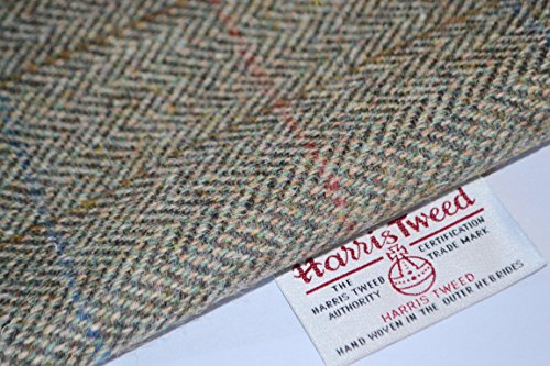 HARRIS TWEED tela 100% pura lana virgen tradicional verde medio rhinocables 75/50 cm - también se vende como medio metro y arte páneles doncella eggelston es ver otros listados
