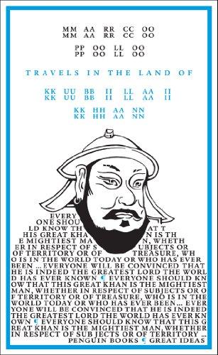 of Kubilai Khan (Penguin Great Ideas) (English Edition) ()