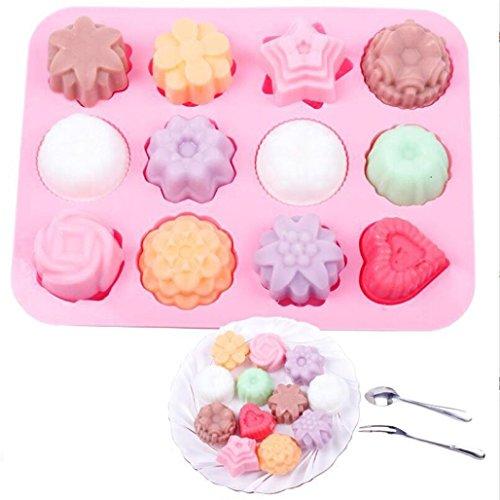 okolade Seifenform Kuchen Süßigkeiten Backform Backform Tabletts Formen (A) ()