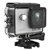 SJCAM SJ4000 Wifi Action Camera, 1080P 30M Waterproof Underwater Camera with Waterproof Case & Accessories Included, Sports Camcorder- Silver