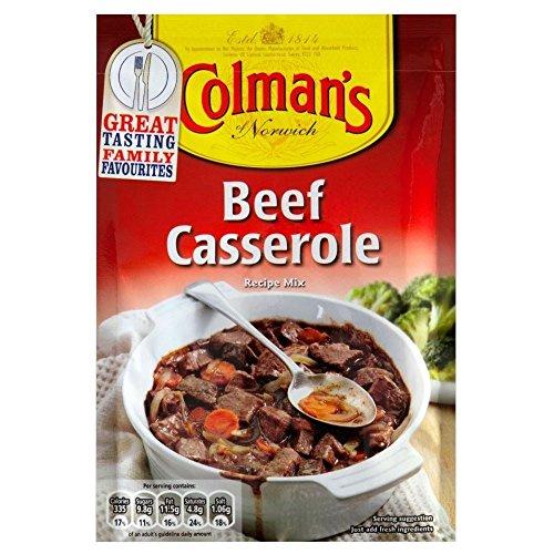 Colman 's mélange de bœuf Sauce de la casserole (40g) (Pack de 2)