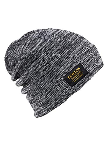 (Burton Herren Kactusbunch Beanie Tall Mütze, True Black/Stout White Marl, One Size)
