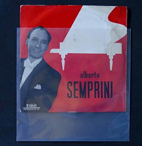 50 Buste per dischi vinile 78 Giri in Polietilene My 100