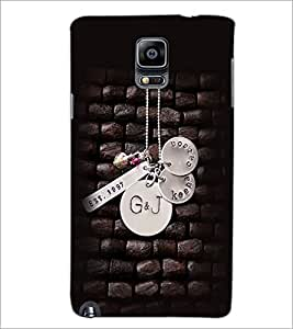PrintDhaba Pendant D-2374 Back Case Cover for SAMSUNG GALAXY NOTE 3 (Multi-Coloured)