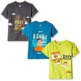 Chhota Bheem Boys' T-Shirt (Pack of 3) (...