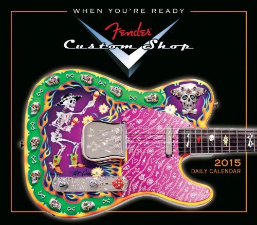 Fender Custom Shop Daily Calendar