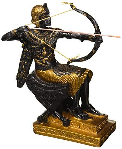 Design Toscano Der Jagende König, Skulptur (Statue Von König Tut)