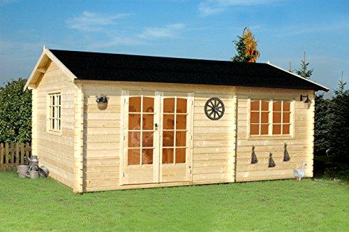 Arkansas - casetta in legno da giardino colore abete naturale Gartenpro