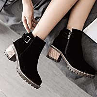 Wuyulunbi@ Women'S Autumn And Winter Style Novelty Boots Long High-Heeled Shoes Pointed Zipper Office And Business Wear Almonds
