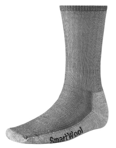 Smartwool Herren Wandersocken Hikingsocken Hike Medium Crew, Grau, XL, BSW130 (Apparel Herren Wool Socks)