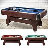 Billard Tisch 6 Fuß FT Billardtisch Pool Table Snookertable Billardtable 183x91 Snookertable Multifunktion