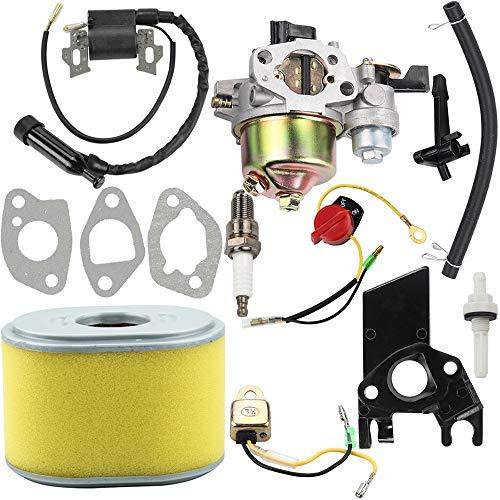 Dalom GX160 Vergaser + Zündspule + Luftfilter Tune Up Kit für Honda GX140 GX 160 GX168 GX200 5HP 5,5 PS 6,5 PS Motor (Go Kart Motor Vergaser)