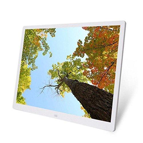 FGDJTYYJ Digitaler Bilderrahmen 15-Zoll-Hi-Res Widescreen-Vollformat-Multifunktions-Slim HD Full Format Digital Bilderrahmen, B Full-hd-widescreen-lcd