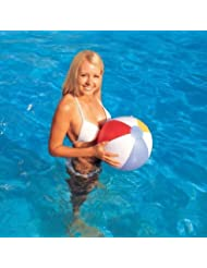 Gifts4Home Bestway Ballon de plage/piscine/vacances gonflable Motif bandes 40 cm