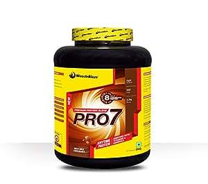 MuscleBlaze PRO7 Protein Blend, 2 kg Rich Milk Chocolate