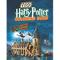 Lego Harry Potter Coloring Book: Great Coloring Book for Kids and Fans - GIANT 50 Pages with High Quality Images
