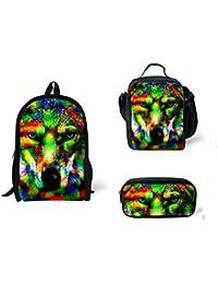 f70f520bcc CHAQLIN Cool Animal Backpack Chilren School Bag For Boys Girls Kids  Bookbags…