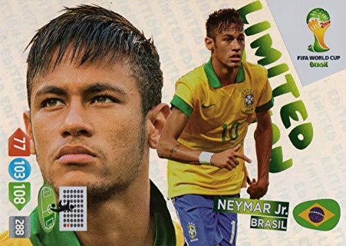 FIFA World Cup 2014 - Neymar Jr. (Brazil/Brasil) Limited Edition Trading Card ()