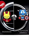 Sunbre - Deodoranti per auto, 2 pezzi - personaggi Marvel Avengers Hero Star Wars Figure Cartoon.