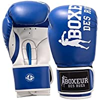Boxeur Des Rues BXT-5127 - Guantes de boxeo, Azul, 12OZ