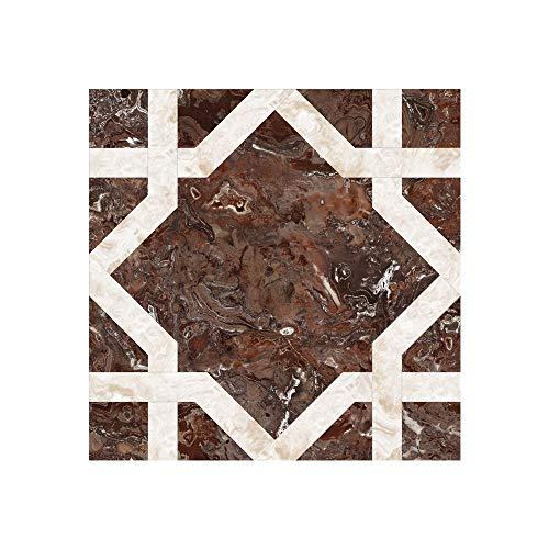 KLMWDDBT Fliesenaufkleber Bodenaufkleber Selbstklebendes Wohnzimmer Bedroom Renoviert Dekorative Paste Pvc Wasserdichter Fliesen Aufkleber...