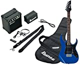 Ibanez IJRG200-BL Jumpstart Set Electric Guitar (Amp, Gig Bag, Strap, Cable, Plectrums, Accessory Case) Blue