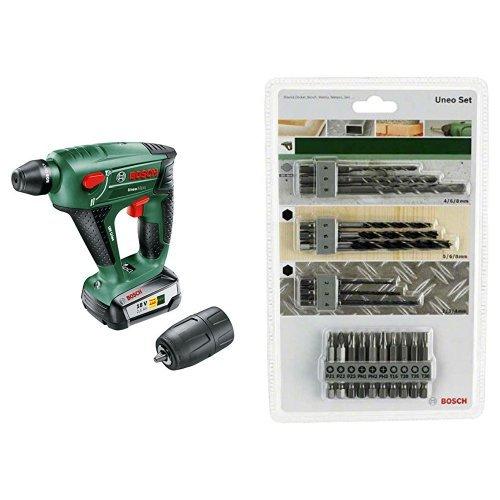 Bosch Uneo Maxx - Martillo perforador batería 18
